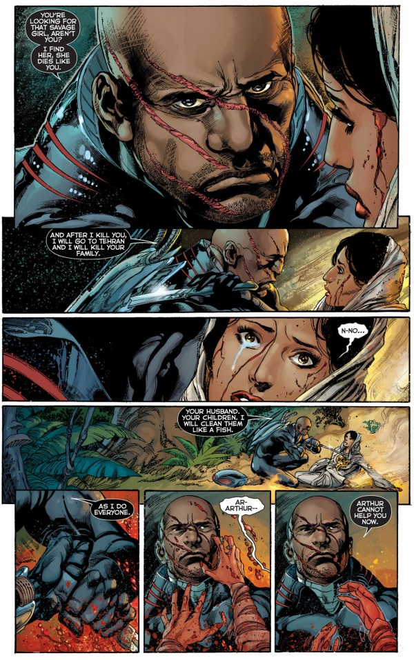 black manta vs kahina the seer