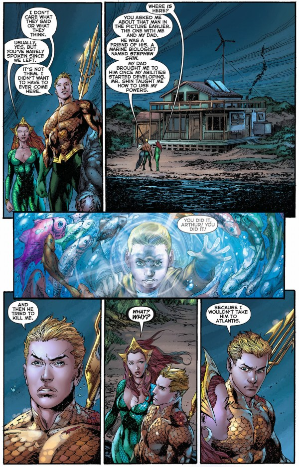 doctor stephen shin trained aquaman
