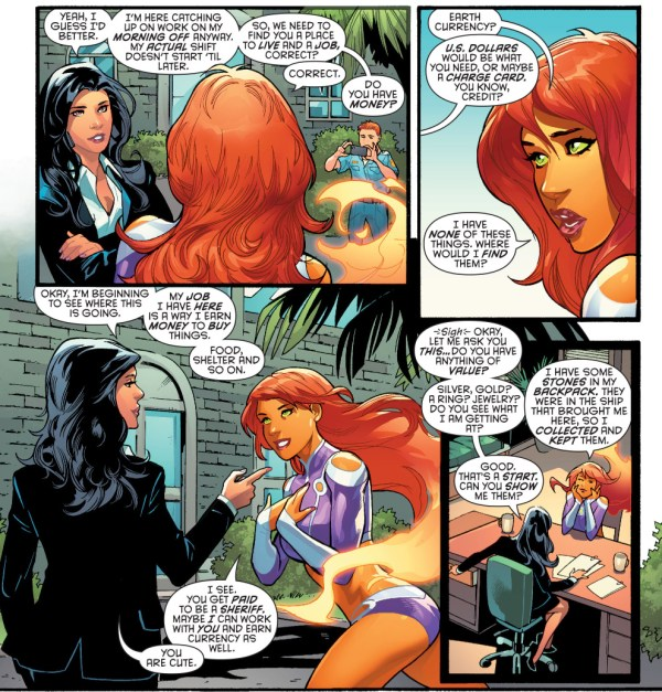 how starfire obtained cash