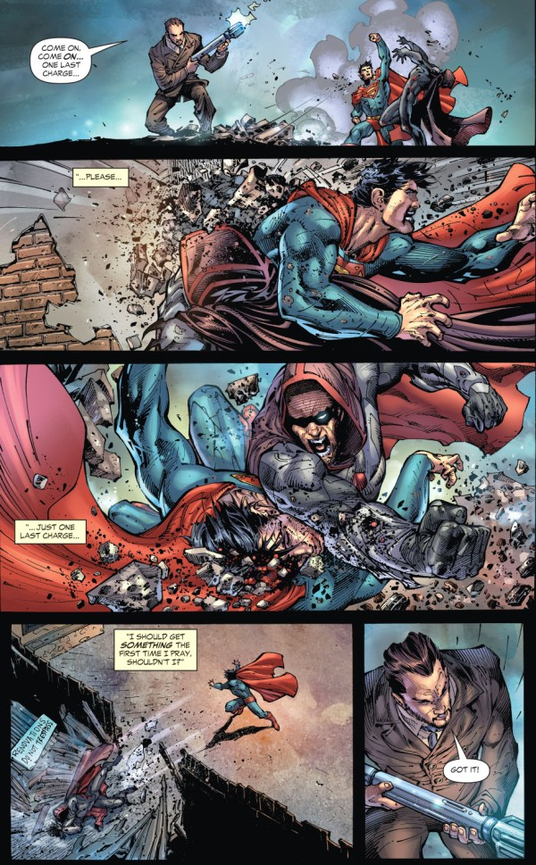 superman vs zod (earth 1)