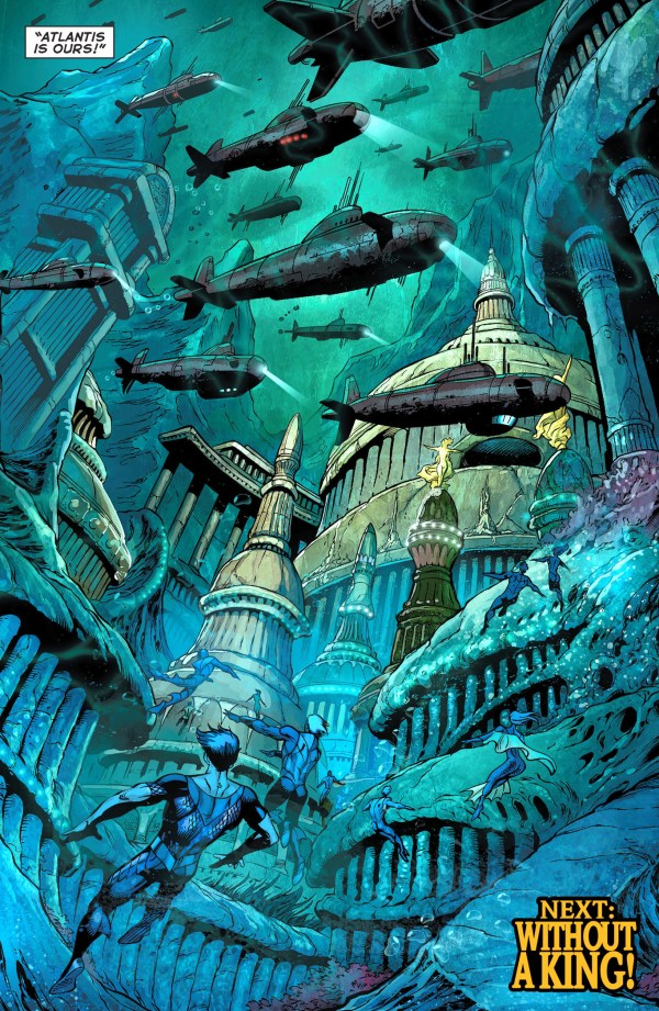 the scavenger finds atlantis
