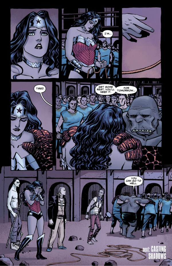 wonder woman incites a coup against hephaestus