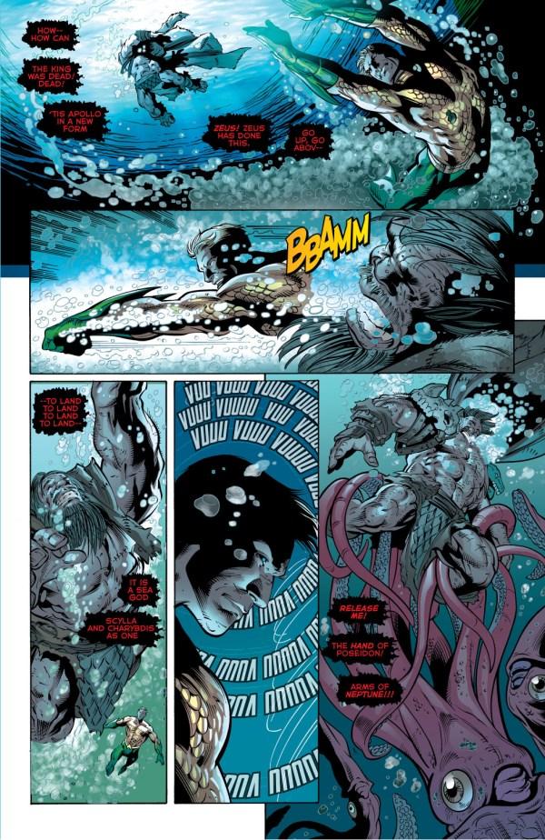aquaman vs hercules (new 52)