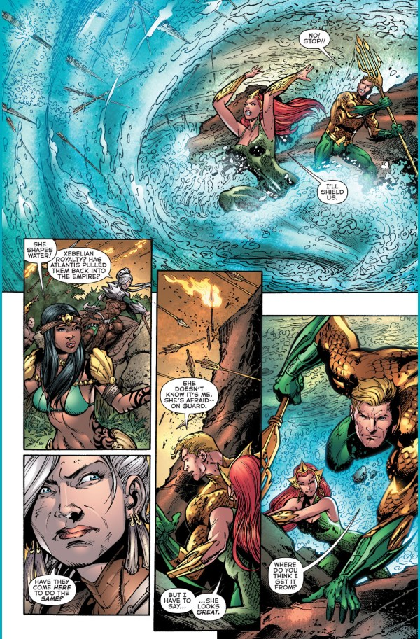 aquaman's first meeting with atlanna