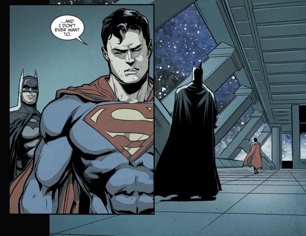 batman explains why wonder woman can beat superman
