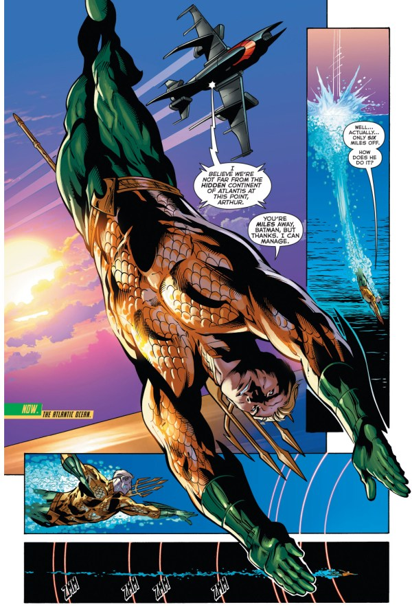 batman knows where atlantis is