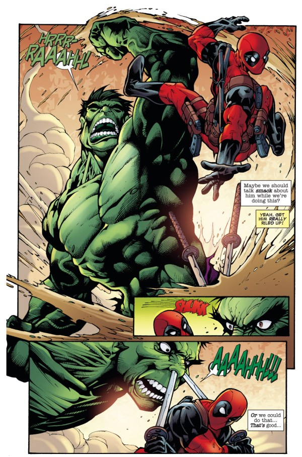 deadpool vs the hulk 1