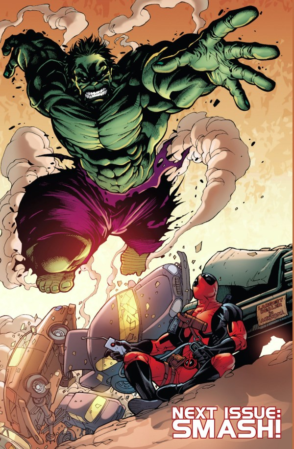 deadpool vs the hulk 7