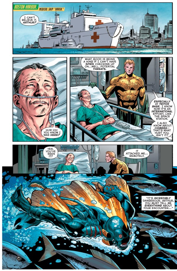 doctor shin explains the chimera's origin