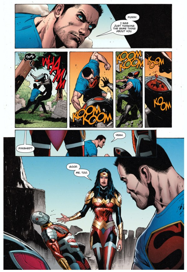 superman and wonder woman vs the suicide squad