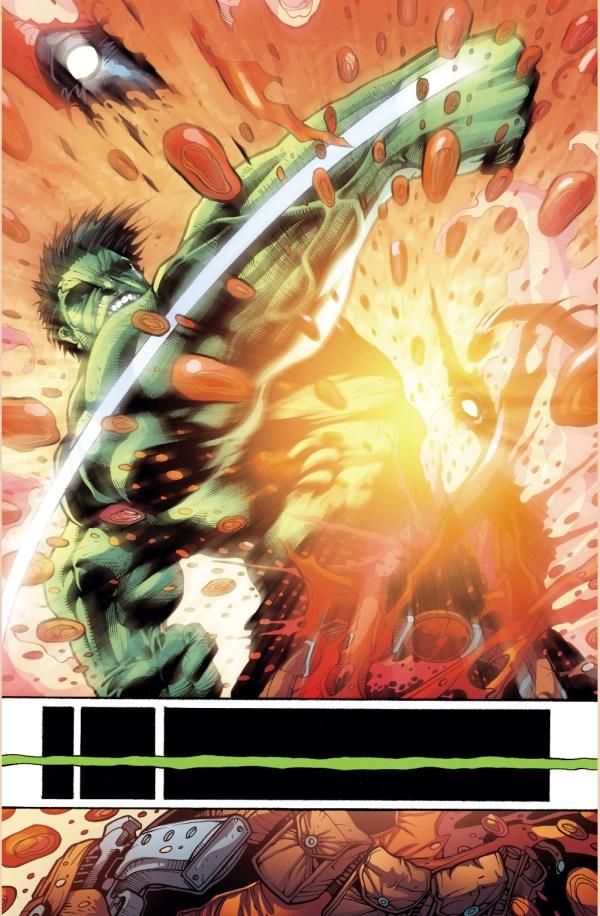 the hulk smahes deadpool