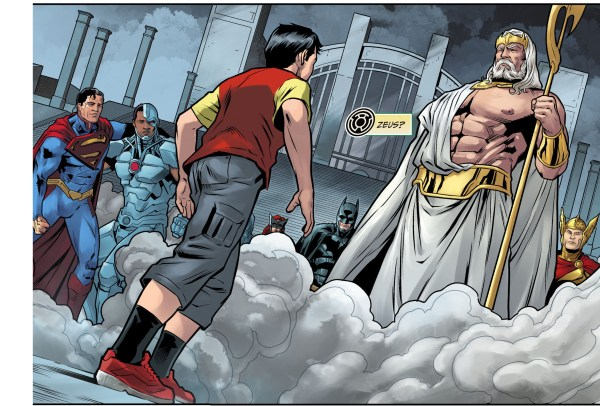 zeus strips shazam of his powers