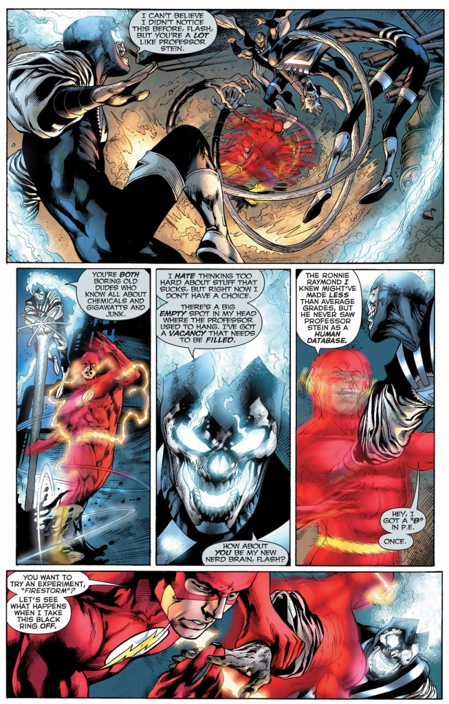 green lantern, the atom and the flash vs black lantern justice league 2