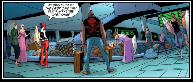 harley quinn deals with airline customer service