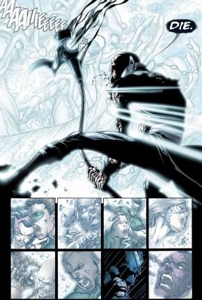 nekron attacks the white entity