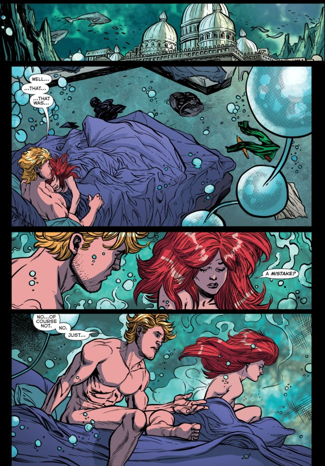 aquaman sleeps with siren