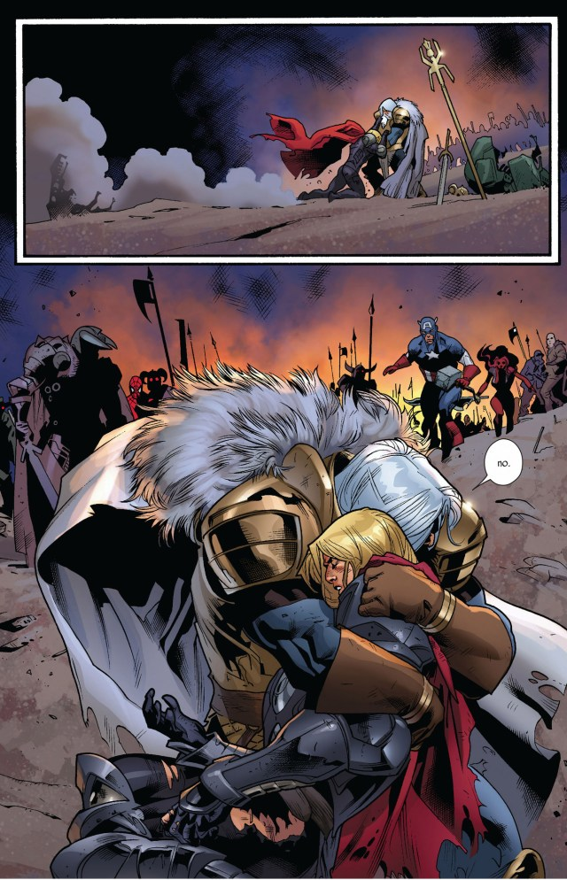 death of thor (fear itself)