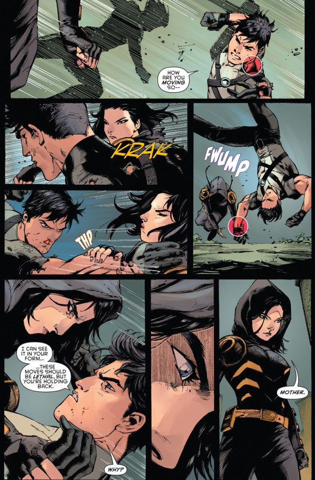 dick grayson vs cassandra cain