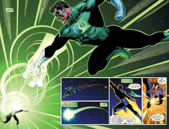 Green Lantern vs sinestro (rebirth)
