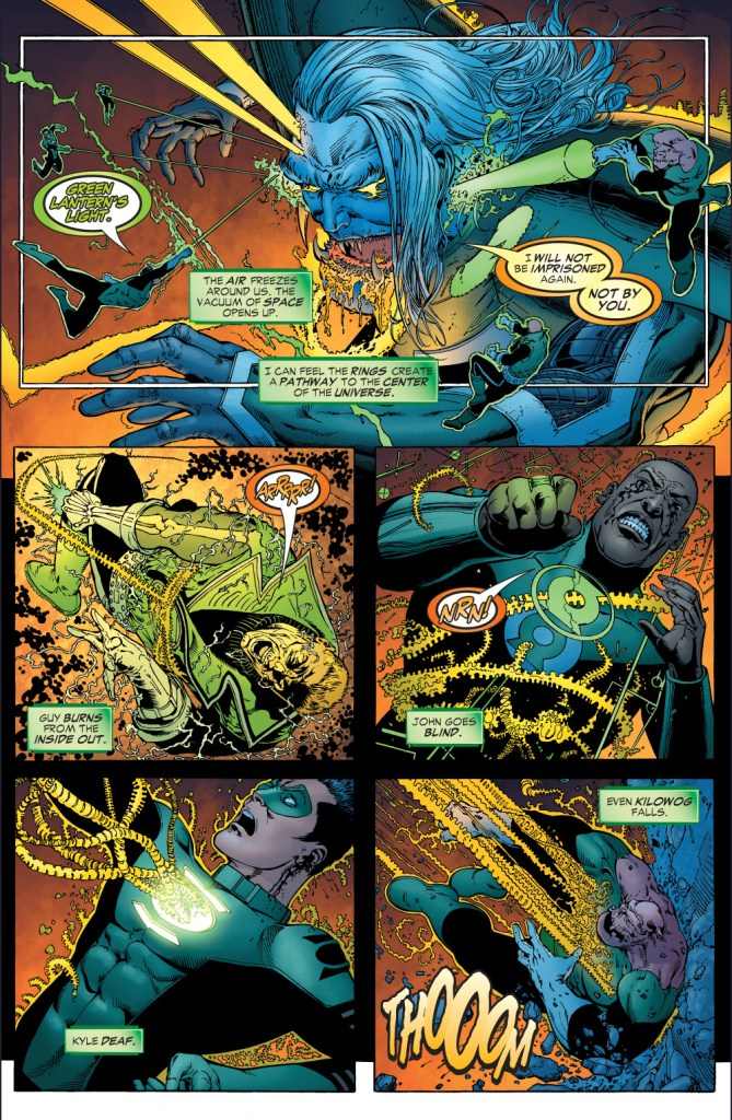 green lanterns vs ganthet-parallax 2
