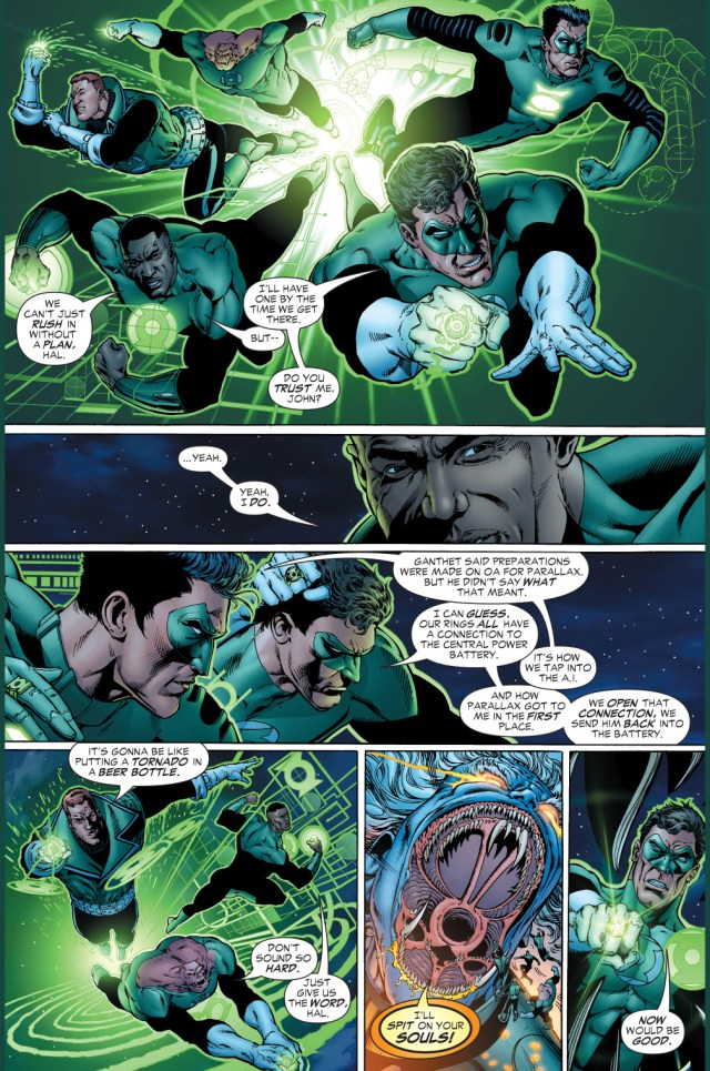 hal jordan's description of all green lanterns