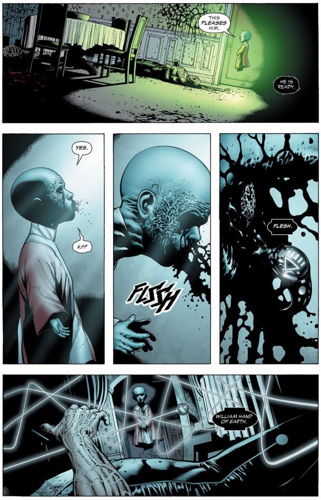 how black hand became the black lantern entity