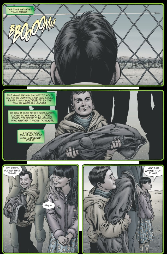 how hal jordan's father died (rebirth)