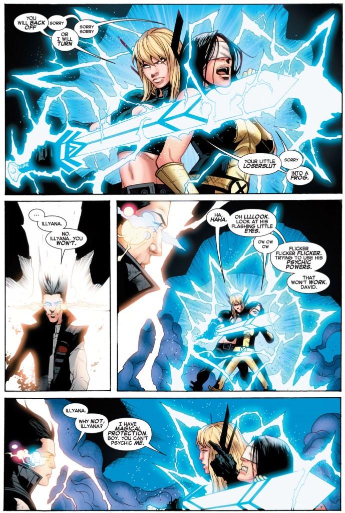 how legion beat magik