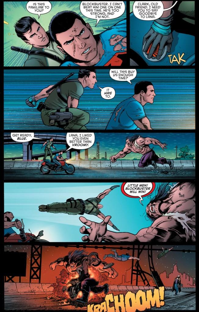 superman and dick grayson vs blockbuster