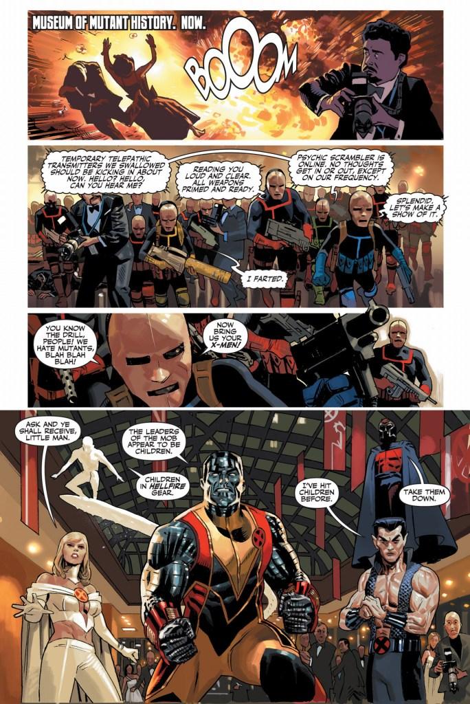 x-men vs hellfire club (schism)