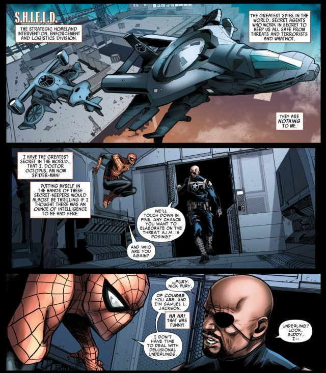 Superior Spider-Man Meets Nick Fury JR