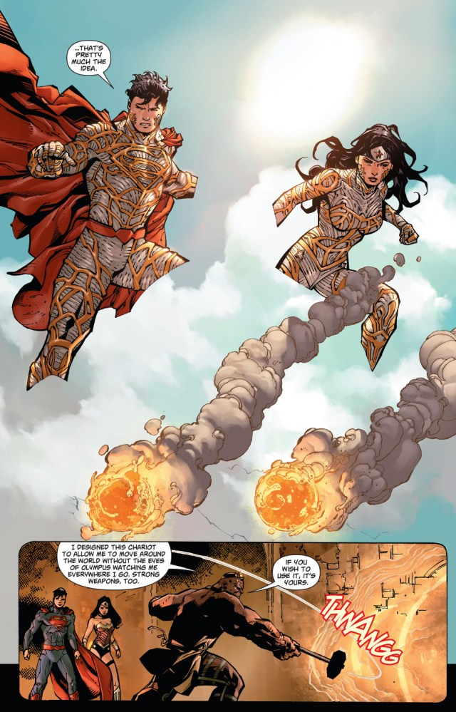 wonder woman's invisible chariot(new 52)