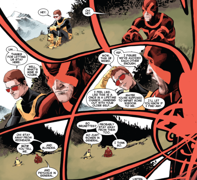 Cyclops's advice to his younger self