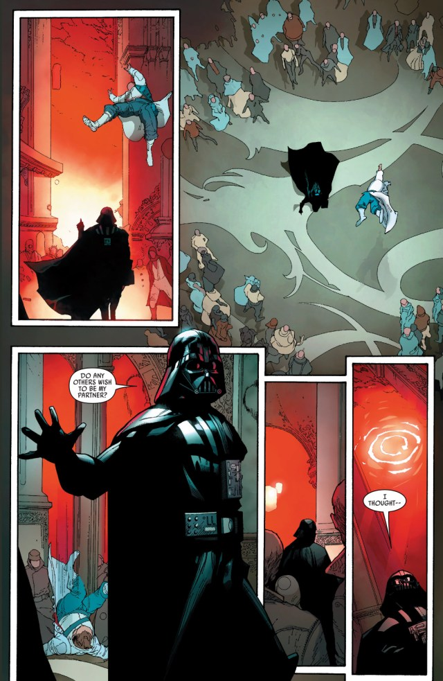 darth vader doesn't dance