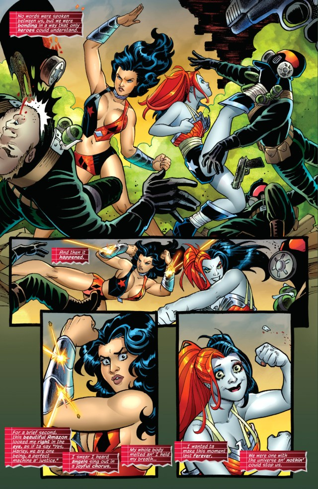 harley quinn and wonder woman team up