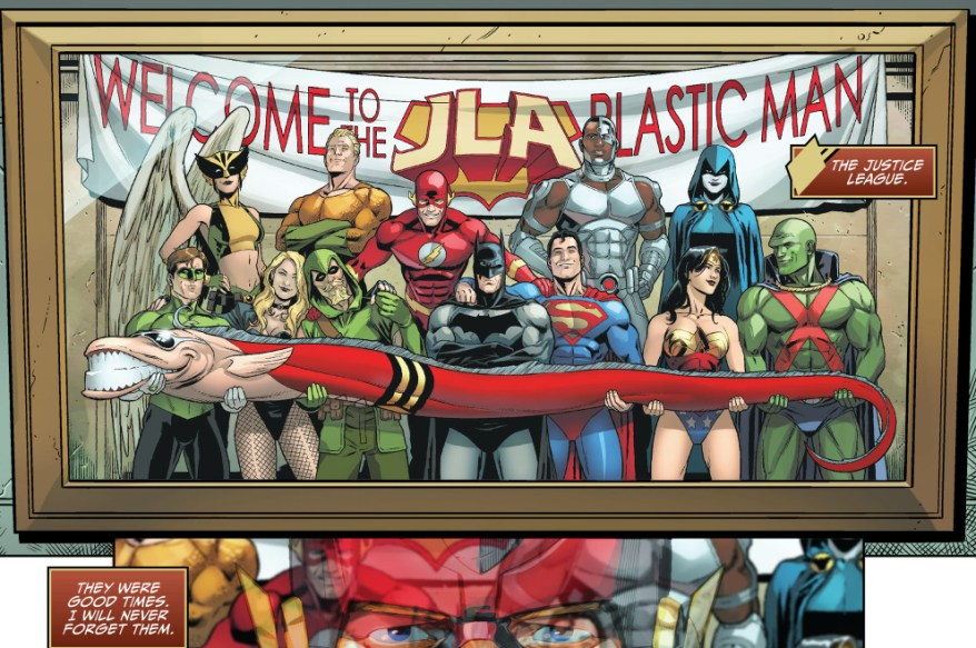 plastic man joined the justice league (injustice gods among us)