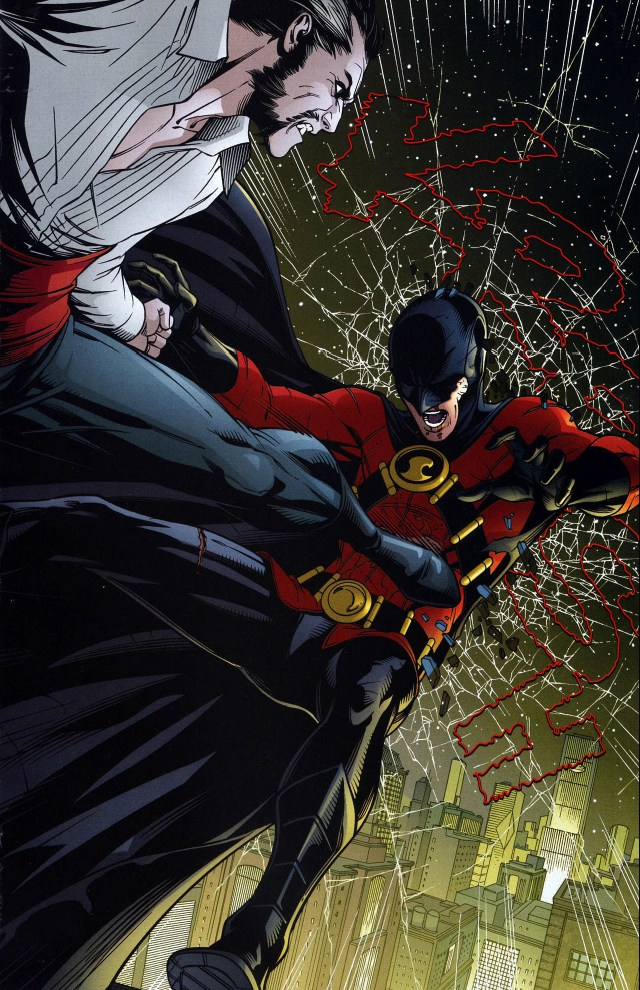 red robin vs ra's al ghul