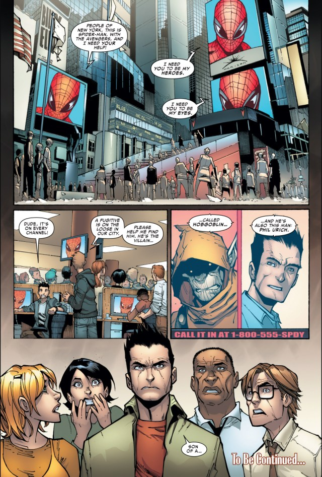 superior spider-man uses crowdsourcing