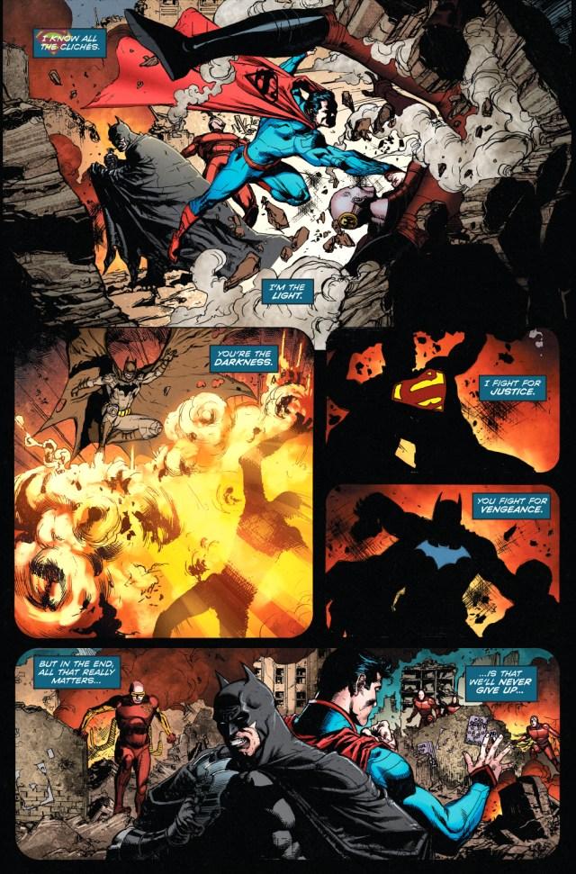 superman and batman cliche