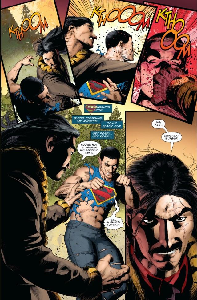 superman vs vandal savage (new 52)