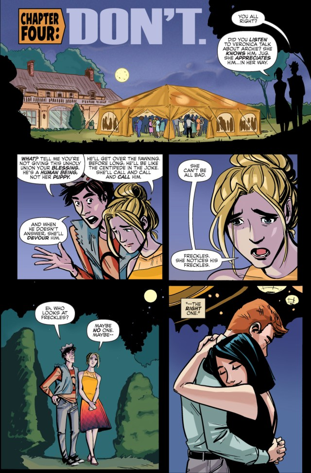 Why Betty Gave Her Blessing To Archie And Veronica