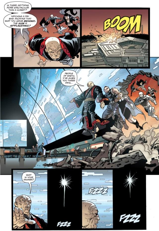 batman's answer to quar's ultimatum