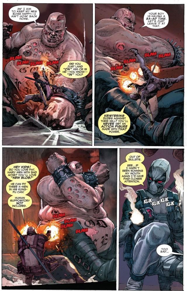 deadpool and fantomex vs age of apocalypse blob