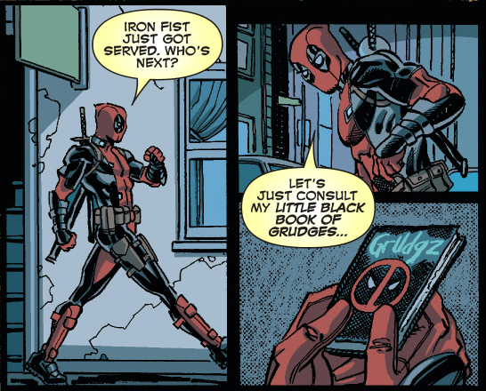 deadpool's grudge against the hand