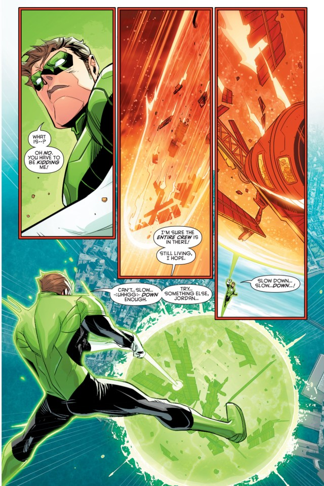 green lantern hal jordan vs red-black lantern harley quinn