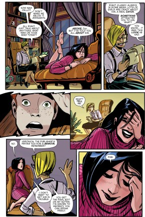 why veronica loves archie