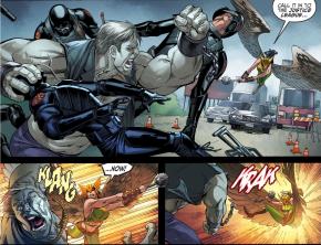 Hawkgirl VS Solomon Grundy (Injustice Gods Among Us)