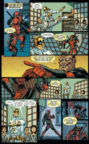Iron Fist Gets Served By Deadpool