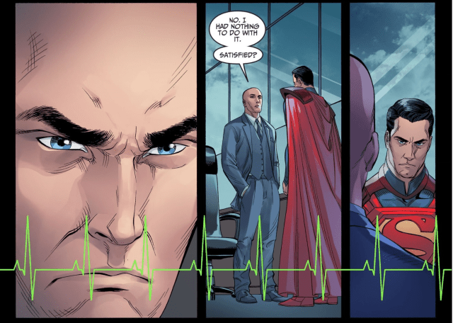 Lex Luthor Passes Superman's Lie Detector Test