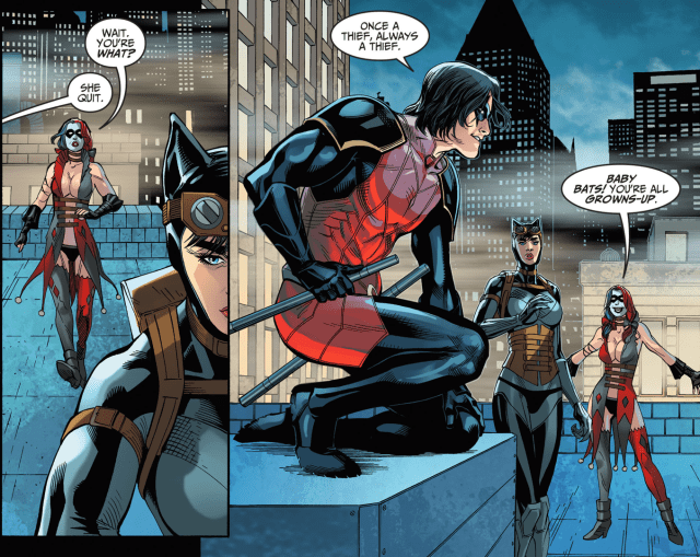 Robin Takes Out Harley Quinn (Injustice Gods Among Us)
